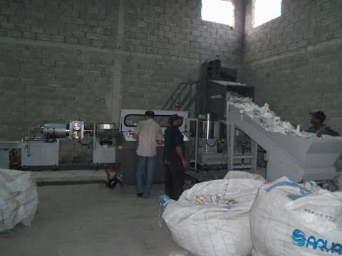Plastic waste recycling machine bangladesh
