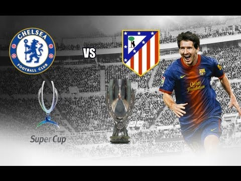 FIFA 13 mac gameplay - Chelsea vs Atletico Madrid - UEFA Super Cup final FIFA 13 edition