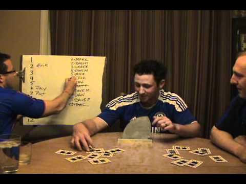 2012 Fantasy Football Draft Lottery