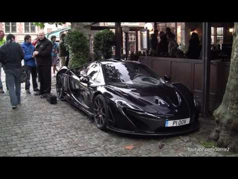 Jeremy Clarkson with the McLaren P1!! - Top Gear UK