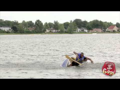 Sinking Canoe Prank