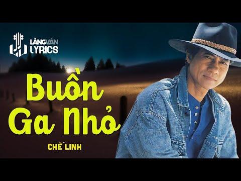 Chế Linh - Lời Giã Biệt  [OFFICIAL KARAOKE M/V]