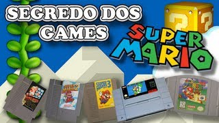 Segredos Dos Games #05: Super Mario (NES Ao N64)