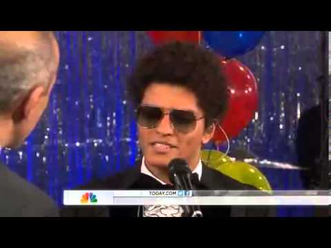 bruno mars if i knew hd today show nbc brunomars. Black Bedroom Furniture Sets. Home Design Ideas