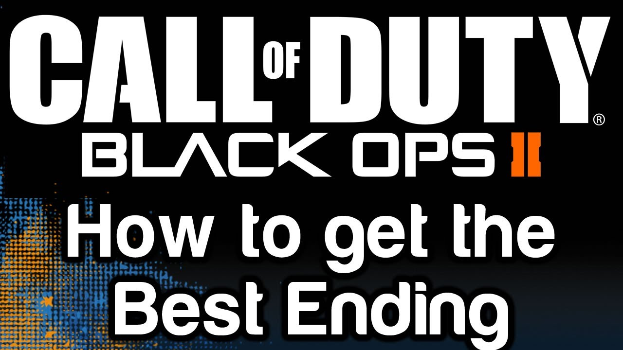 black ops 2 how to lose defalco