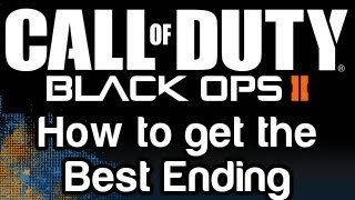 Call of Duty: Black Ops 2 - How to get the Best Ending | WikiGameGuides