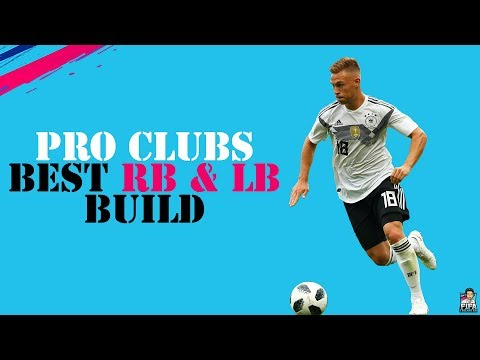 FIFA 19 PRO CLUBS BEST FULLBACK/WINGBACK BUILD & TRAITS + TIPS | MOST OP PLAYER BUILD