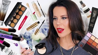 First Impressions NEW DRUGSTORE MAKEUP | Get Ready & Wear test
