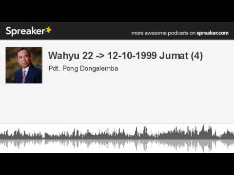 Wahyu 22 - 12-10-1999 Jumat (4) (made with Spreaker)
