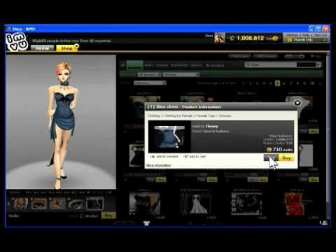 IMVU - Shopping the Catalog, shoppin