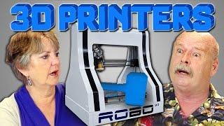 ELDERS REACT TO 3D PRINTERS