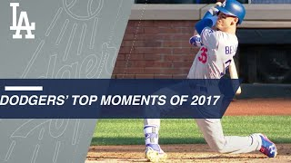 A look back at Dodgers' top moments of 2017