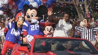 Super Bowl MVP Malcolm Smith Goes To Disney World In A
