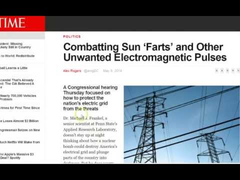 Congressional Hearing Warns Solar Flare May Knock Out Electrical Grid For Months or YEARS