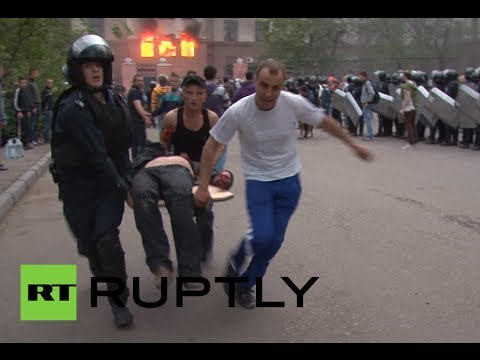 Odessa graphic video: People burnt alive, suffocated in Ukraine's Right Sector assault