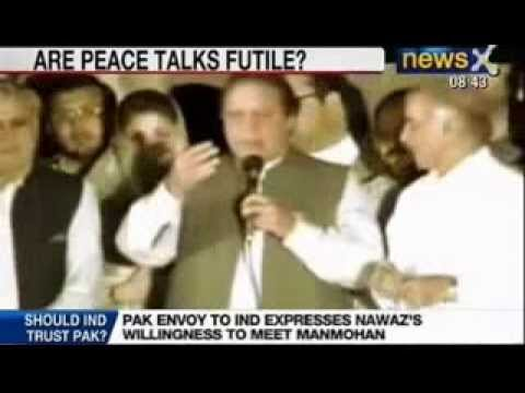 NewsX : Manmohan Singh non committal on meeting with Nawaz Sharif