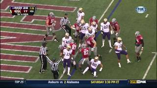 2012 Apple Cup - 4th Quarter and OT