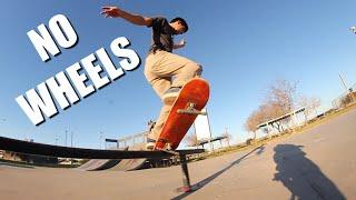 Tiniest Steel Wheeled Skateboarding