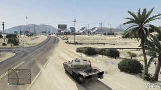 GTA 5 How To Find Your Purchased Tank As Trevor (w