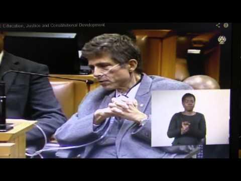 IFP's Dr Mario Oriani-Ambrosini MP: Justice and Constitutional Development Budget Vote Debate