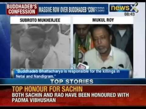 Mystery behind Buddhadeb Bhattacharjee's confession on Netai killings ? - NewsX