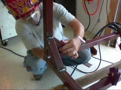 Easy weekend welding table project youtube for Project weekend