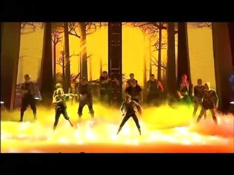 Odyssey - Gymnasts - Semi Final 3 Australia's Got Talent 2012 [FULL]
