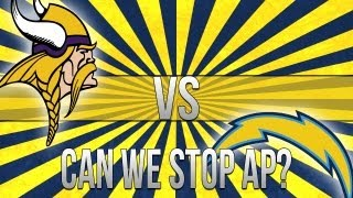 """MADDEN 25-CAN WE STOP AP? """"MADDEN NFL 25"""" CHARGERS Vs"""