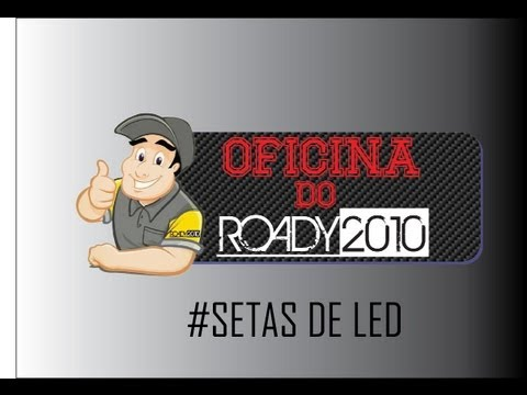 ROADY2010 CB300 - 02/08/2013 - OFICINA DO ROADY ( #SETAS DE LED )