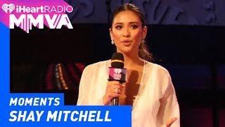 Shay Mitchell, Alessia and Joe Introduce Julia Michaels | 2017 iHeartRadio MMVAs