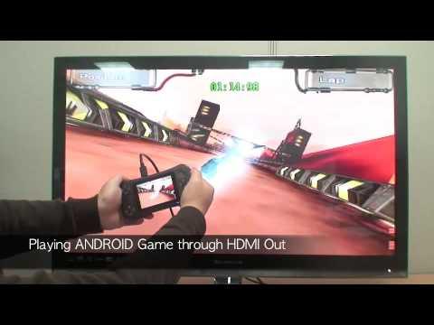 Игровая приставка на ОС Google Android