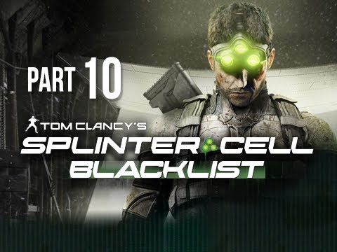 Splinter Cell Blacklist Gameplay Walkthrough Part 10 - Blood Diamond Mines