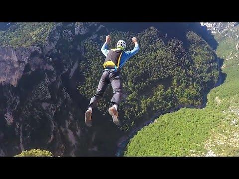 CLIFF BASE JUMP| Gorges du Verdon