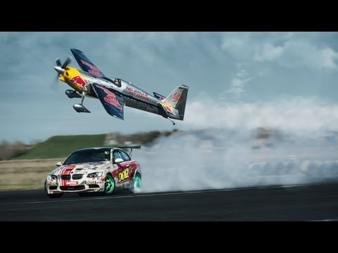 DOTZ TV: Tic Tac Toe - Car vs. Plane - Gymkhana: DOTZ Kings of Sideway