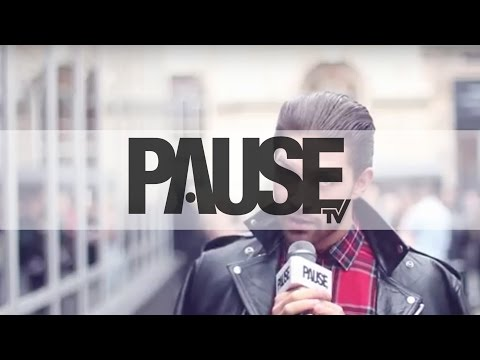 London Fashion Week SS14 - Street Style Interviews