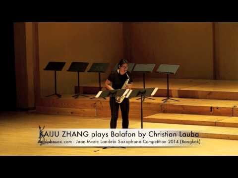 KAIJU ZHANG plays Balafon by Christian Lauba