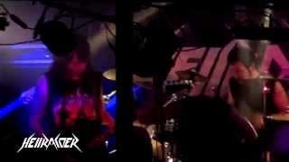 HELLRAIDER - Death religious fanatics - DVD LIVE TOTAL THRASH