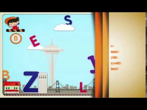 Frugoton City Letters - Education and Fun for Kids.