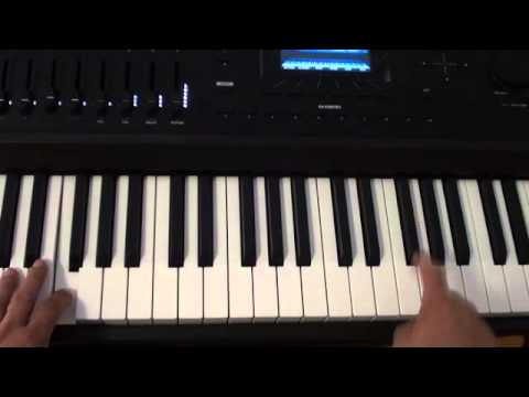 How to play Open Wide on piano - Calvin Harris ft. Big Sean - Piano Tutorial