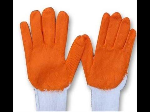 Găng tay cao su, găng tay len, khẩu trang bảo hộ lao động Sunrise