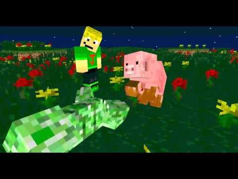The Creeper Killing Pig