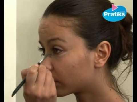 comment faire un maquillage naturel et glamour 1 5 youtube. Black Bedroom Furniture Sets. Home Design Ideas
