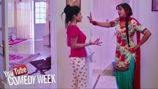Girls Fight Comedy Scene From Latest Punjabi Movie Of
