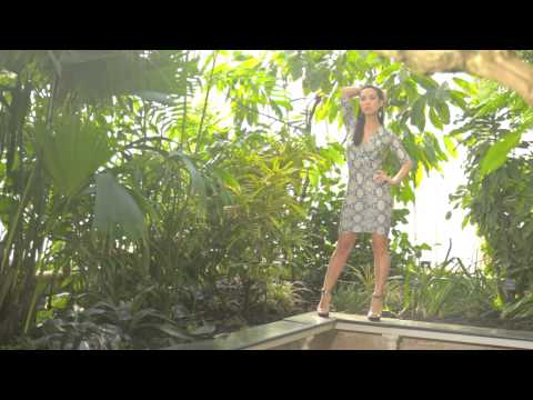 Behind The Scenes Myleene Klass SS14 Summer PR Shoot