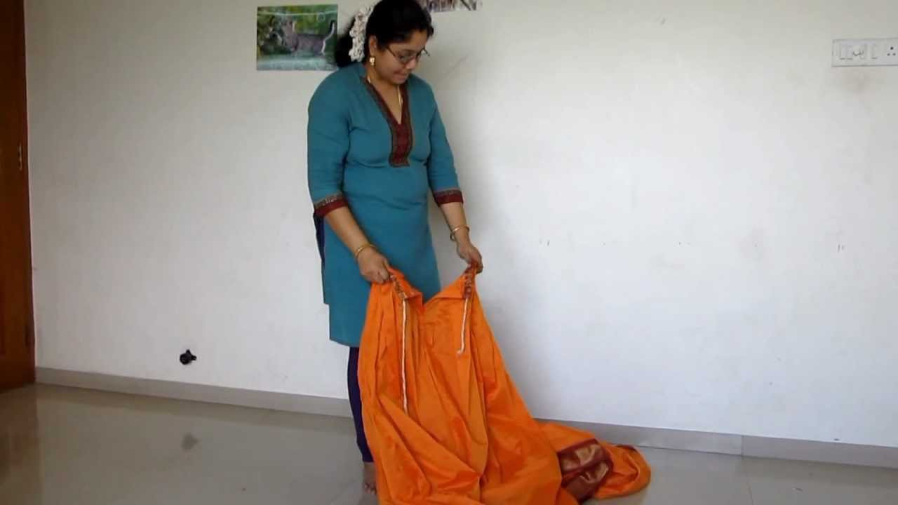 madisar readymade iyer saree   youtube
