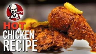 DIY KFC Nashville Hot Chicken