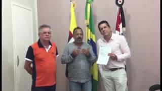 David Martins entrega Emenda Parlamentar em Bastos