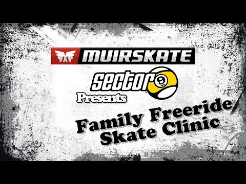 Sector 9 Family Freeride Slide Clinic | Muir Skate Longboard Shop