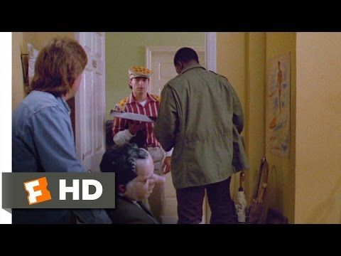 Men at Work (8/12) Movie CLIP - The Pizza Man Sees Too Much (1990) HD