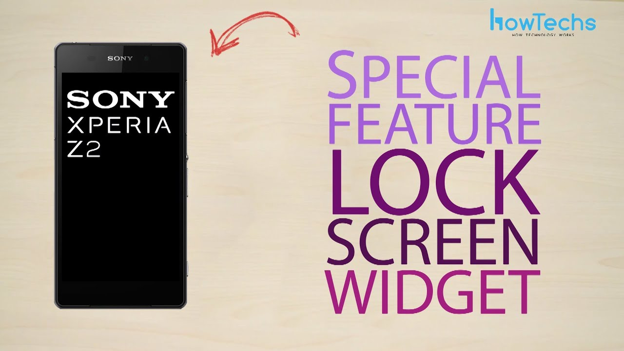 sony xperia z2 lock screen widget how to youtube. Black Bedroom Furniture Sets. Home Design Ideas